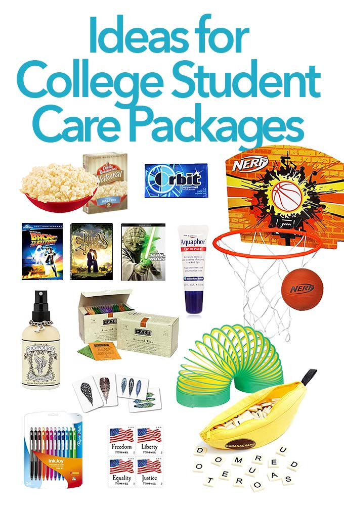 Best ideas about Gift Ideas For College Students . Save or Pin Care Package Ideas for College Students Now.