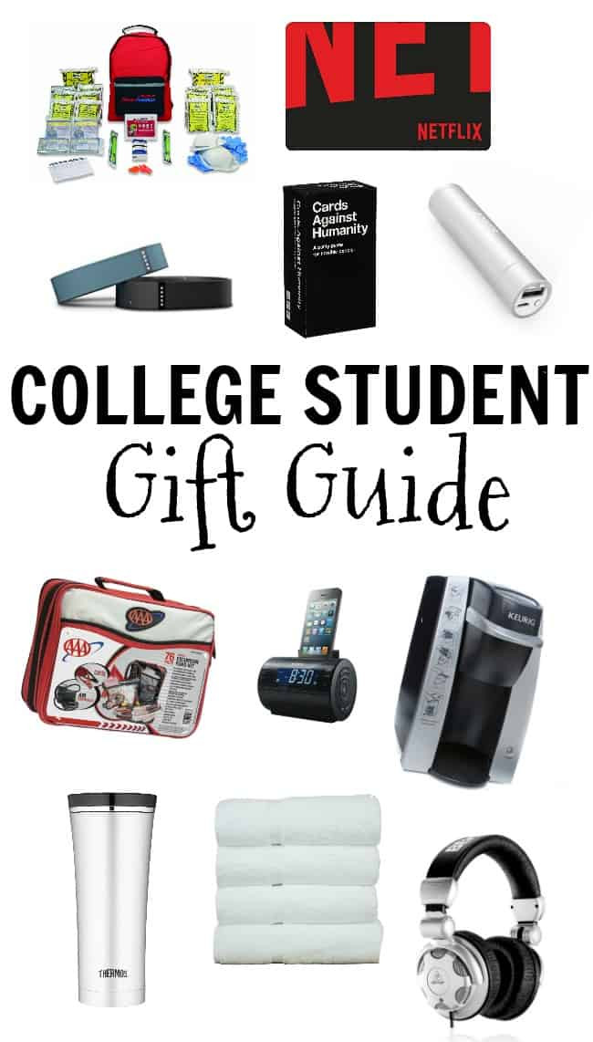 Best ideas about Gift Ideas For College Students . Save or Pin College Student Gift Ideas Now.
