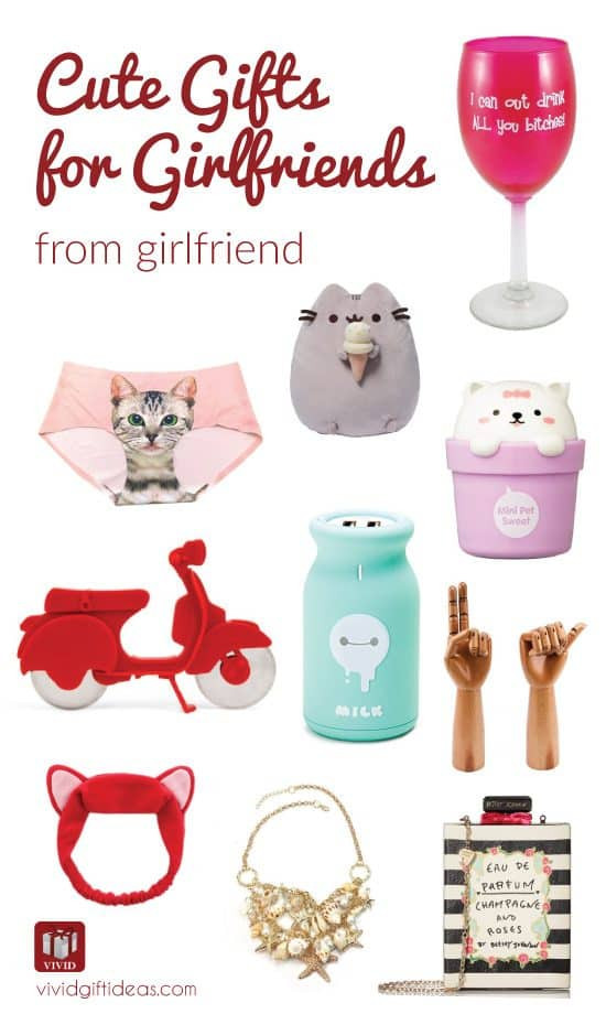 Best ideas about Gift Ideas For Girlfriend Reddit . Save or Pin 10 Super Cute Gifts for Your Girlfriends Vivid s Now.