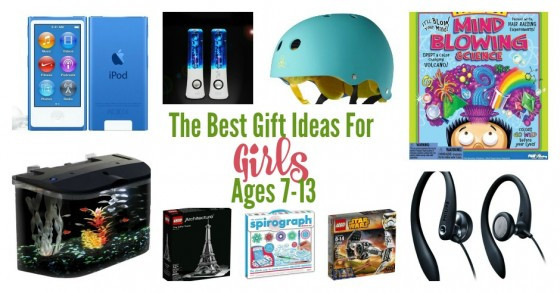 Best ideas about Gift Ideas For Girls Age 5 . Save or Pin Gift Ideas for Girls ages 7 13 Fabulessly Frugal Now.