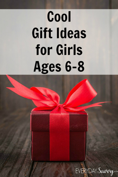 Best ideas about Gift Ideas For Girls Age 8 . Save or Pin Cool Holiday Gift Ideas for Girls Ages 6 to 8 Everyday Savvy Now.