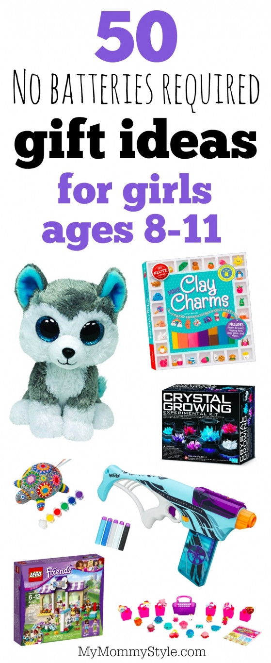Best ideas about Gift Ideas For Girls Age 8 . Save or Pin No batteries required t ideas for girls ages 8 11 My Now.