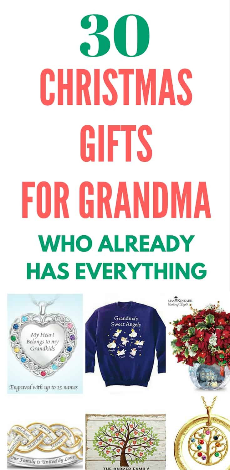 Best ideas about Gift Ideas For Grandma . Save or Pin What to Get Grandma for Christmas Top 20 Grandmother Now.