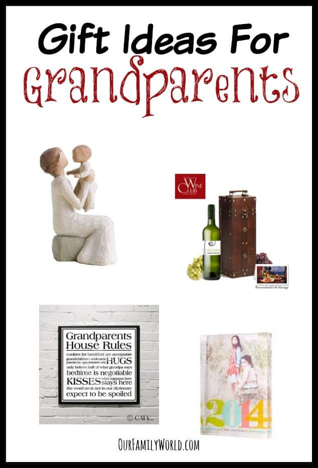 Best ideas about Gift Ideas For Grandma . Save or Pin Gift ideas for Grandparents from Grandkids OurFamilyWorld Now.