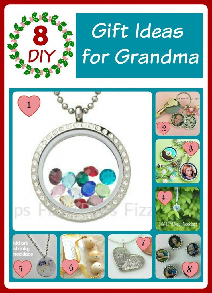 Best ideas about Gift Ideas For Grandma . Save or Pin 5th Day of Christmas 8 Sentimental DIY Ideas for Grandma Now.