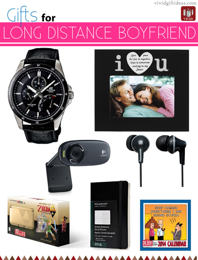 Best ideas about Gift Ideas For Long Distance Boyfriend . Save or Pin 9 Christmas Presents for Long Distance Boyfriend Vivid s Now.