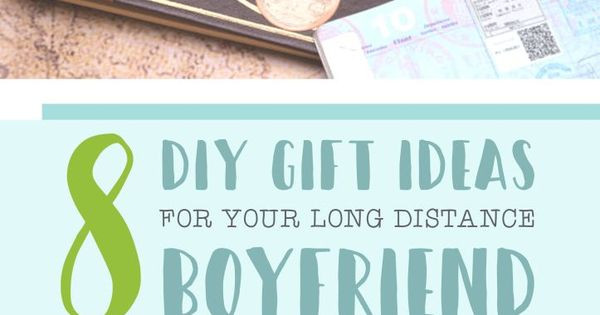 Best ideas about Gift Ideas For Long Distance Girlfriend . Save or Pin 8 DIY Gift Ideas for Your Long Distance Boyfriend Now.