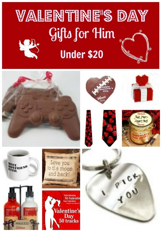 Best ideas about Gift Ideas For Men For Valentines Day . Save or Pin Valentine s Day Gifts 10 Gifts for Him Under $20 My Boys Now.