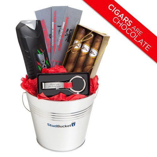 Best ideas about Gift Ideas For Men For Valentines Day . Save or Pin Gift Basket Ideas for Men Easter Baskets for Him Now.