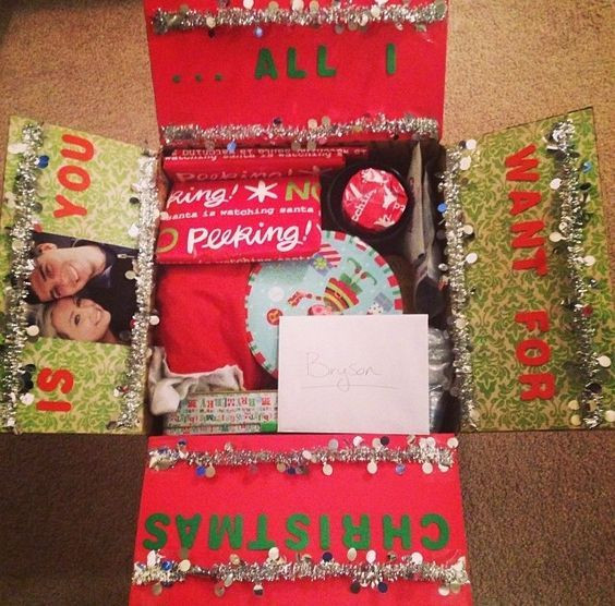"Best ideas about Gift Ideas For Military Boyfriend . Save or Pin Deployment Care package number 3 ""Merry Christmas "" Now."