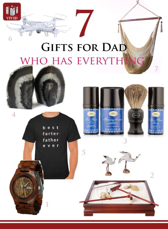 Best ideas about Gift Ideas For New Fathers . Save or Pin 7 Great Gift Ideas for Dad Who Has Everything Vivid s Now.