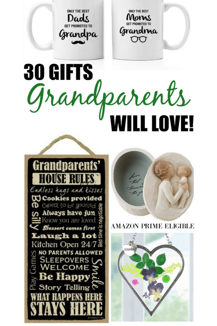 Best ideas about Gift Ideas For New Grandbaby . Save or Pin Gift Ideas for Grandparents Now.