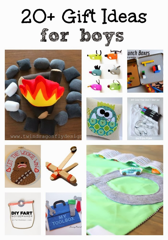 Best ideas about Gift Ideas For Toddler Boys . Save or Pin 20 DIY Gift Ideas for Boys Dragonfly Designs Now.