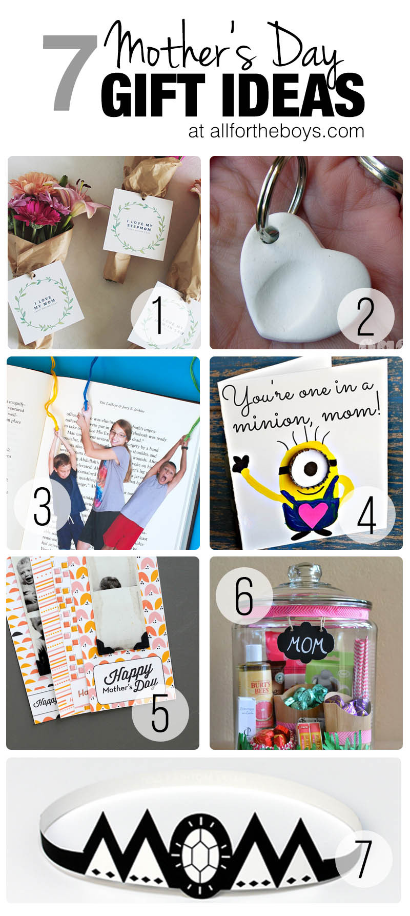Best ideas about Gift Ideas For Toddler Boys . Save or Pin 7 Mother s Day Gift Ideas for Kids — All for the Boys Now.