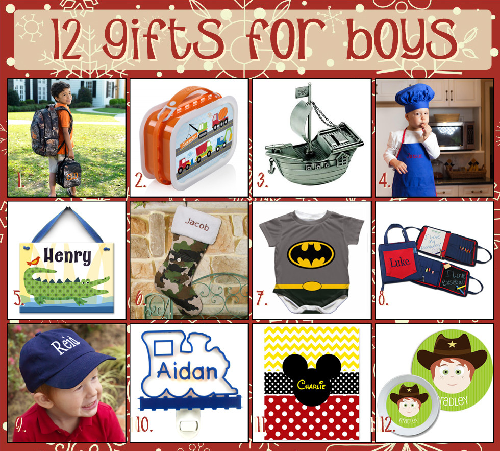 Best ideas about Gift Ideas For Toddler Boys . Save or Pin 12 Days of Christmas Gift Ideas for Boys The Cute Kiwi Now.
