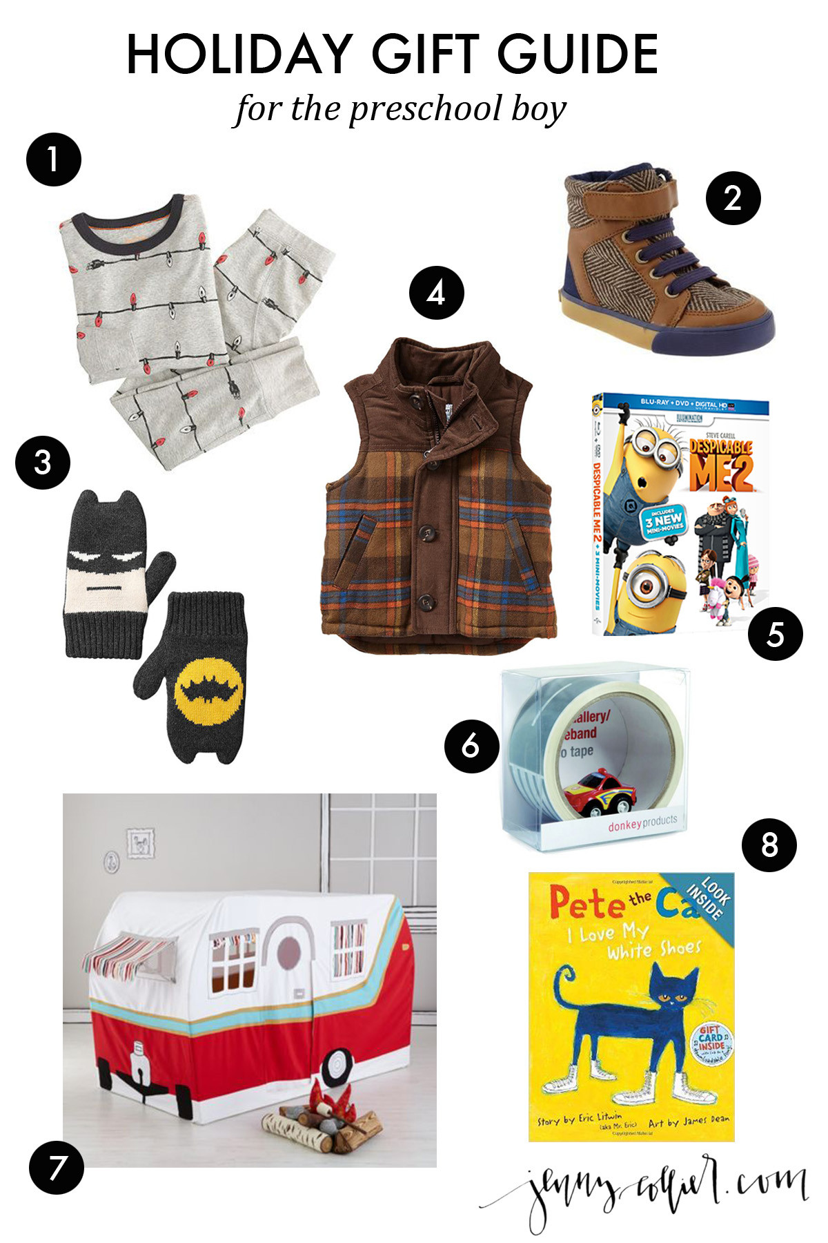Best ideas about Gift Ideas For Toddler Boys . Save or Pin Holiday Gift Ideas for Boys jenny collier blog Now.