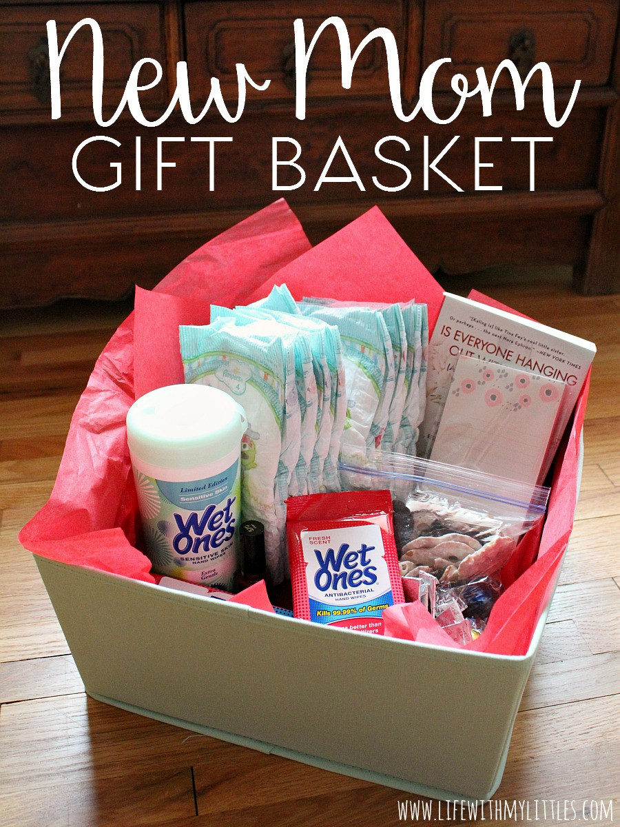 Best ideas about Gift Ideas From Baby To Mom . Save or Pin New Mom Gift Basket Life With My Littles Now.