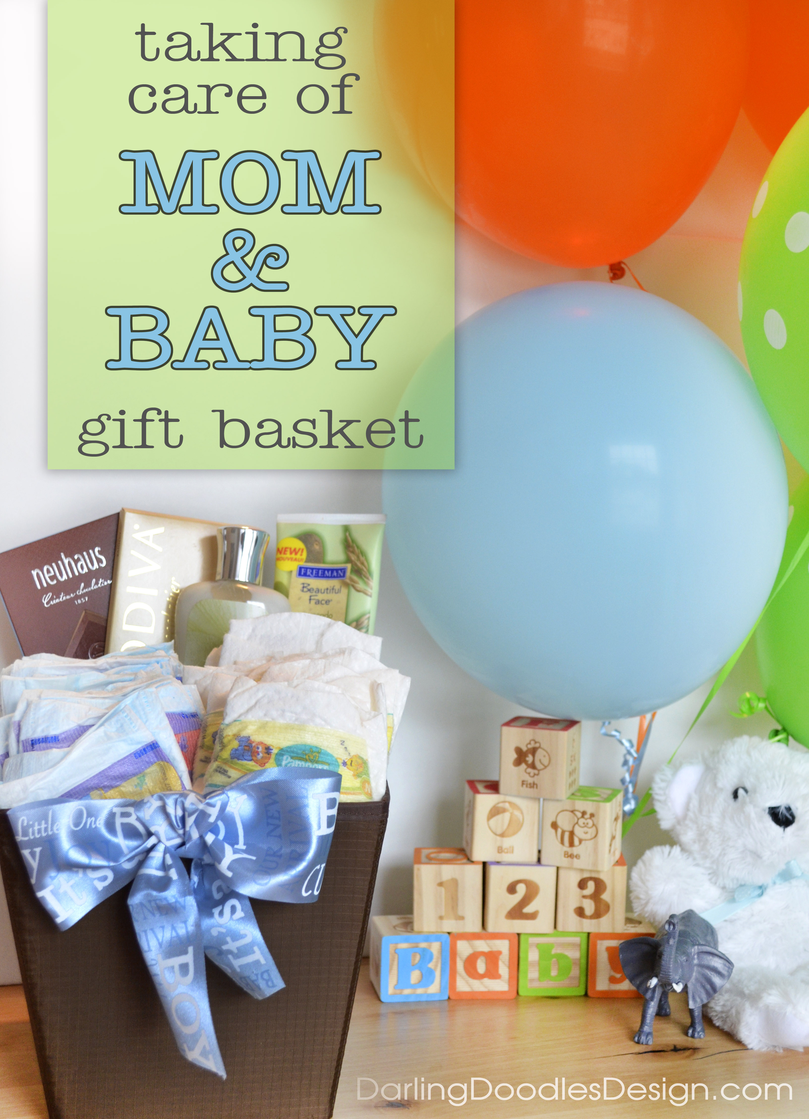 Best ideas about Gift Ideas From Baby To Mom . Save or Pin A Baby Shower Gift for Mom & Baby Darling Doodles Now.