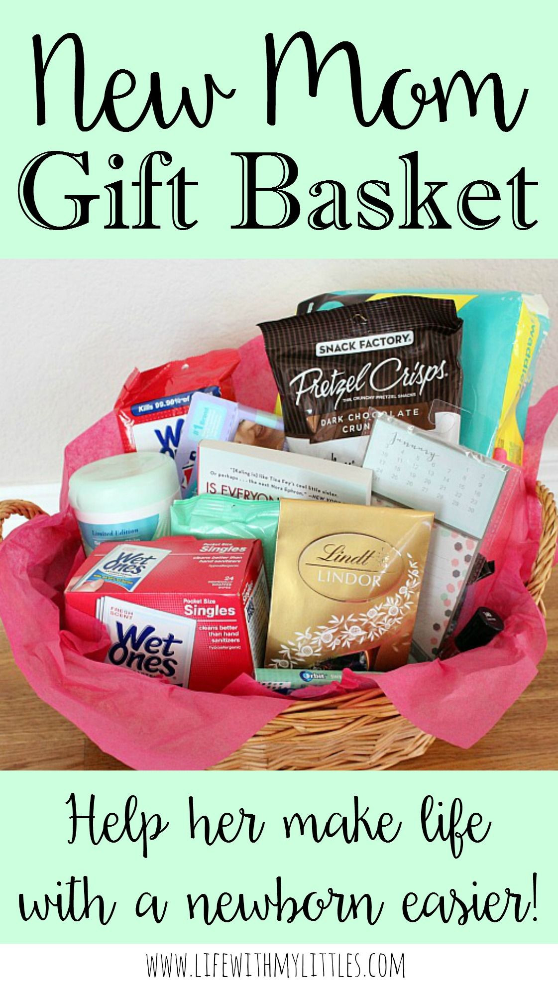 Best ideas about Gift Ideas From Baby To Mom . Save or Pin New Mom Gift Basket Now.