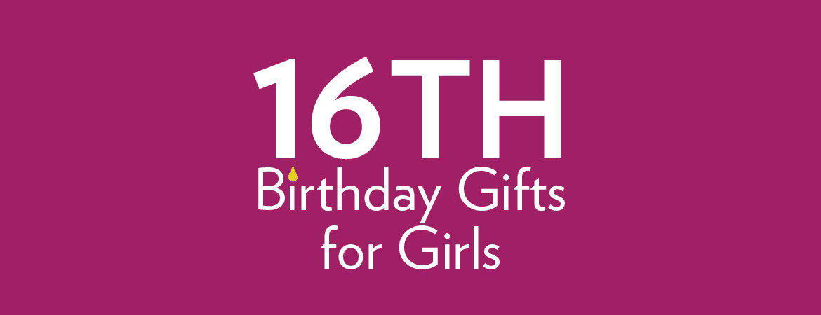 Best ideas about Gifts For 16th Birthday Girl . Save or Pin 16th Birthday Gifts at Find Me A Gift Now.