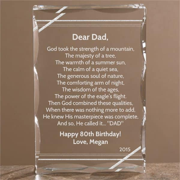 Best ideas about Gifts For Dad Birthday . Save or Pin 80th Birthday Gift Ideas for Dad Top 25 80th Birthday Now.