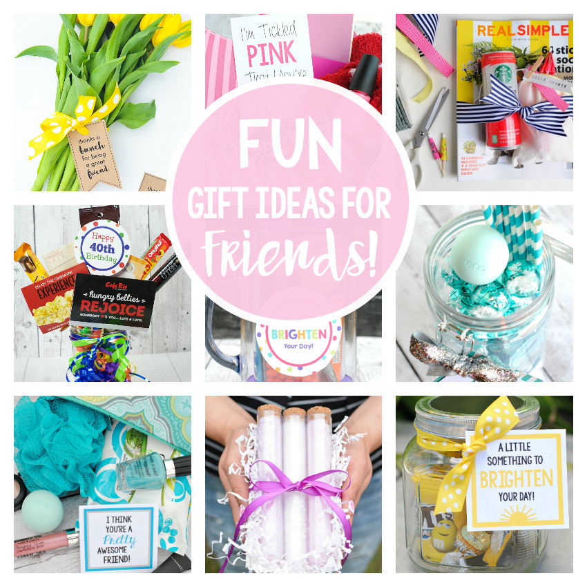 Best ideas about Gifts For Friends Birthday . Save or Pin 25 Gifts Ideas for Friends – Fun Squared Now.