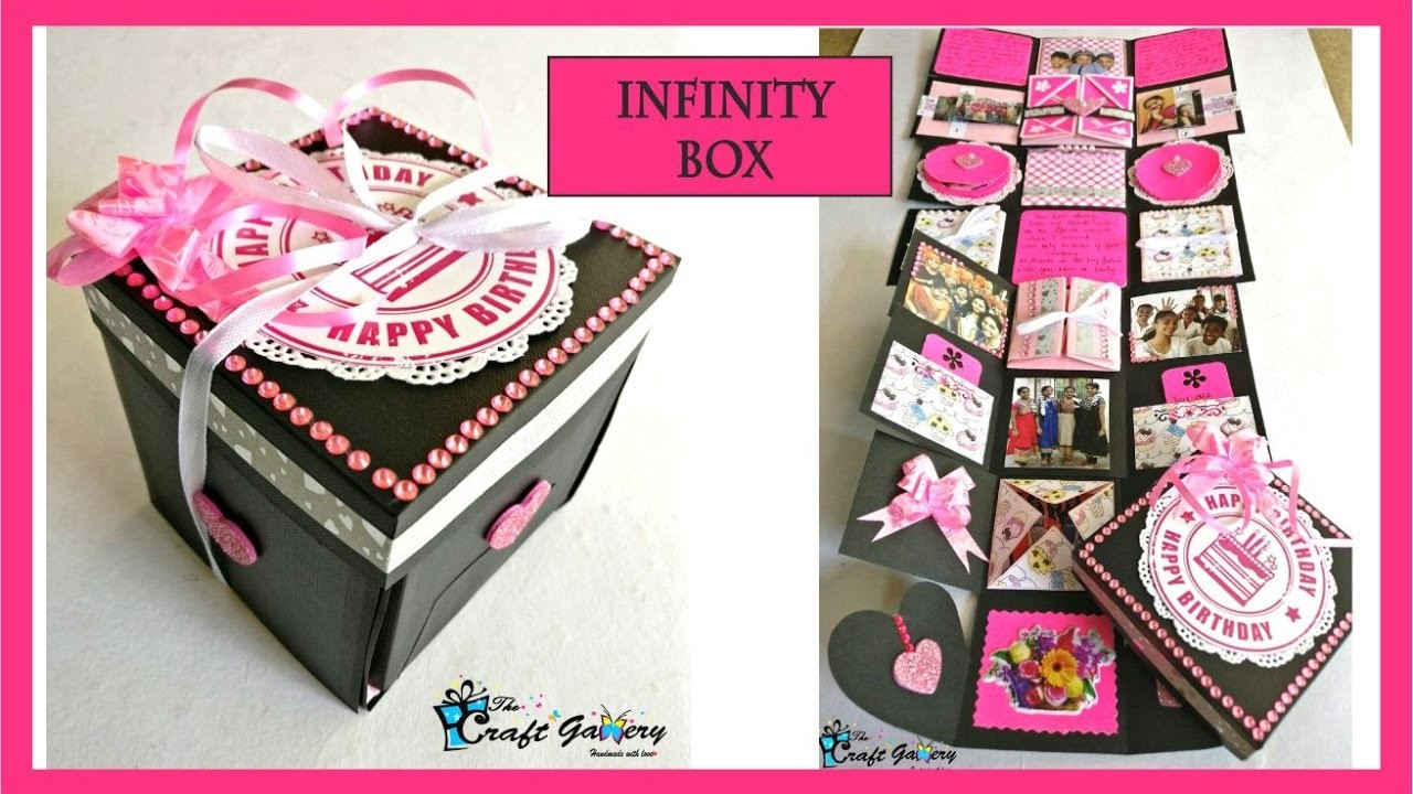 Best ideas about Gifts For Friends Birthday . Save or Pin BIRTHDAY GIFT for a Best Friend INFINITY box Now.