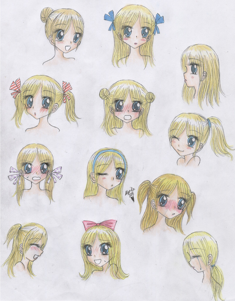 Best ideas about Girl Anime Hairstyles . Save or Pin Cute Anime Hairstyles trends hairstyle Now.