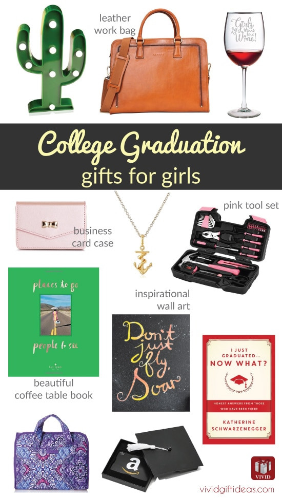 Best ideas about Girl Graduation Gift Ideas . Save or Pin 12 Best College Graduation Gifts for Girls Graduates Now.