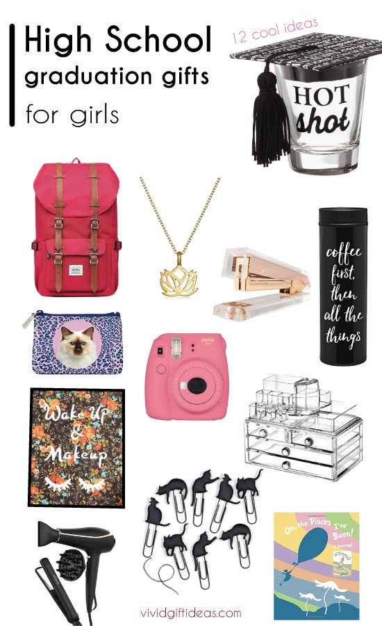 Best ideas about Girl Graduation Gift Ideas . Save or Pin 12 Cool Graduation Gifts for The High School Girls Vivid s Now.