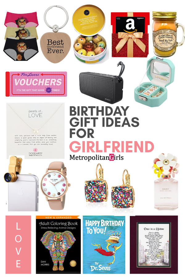 Best ideas about Girlfriend Bday Gift Ideas . Save or Pin Creative 21st Birthday Gift Ideas for Girlfriend Now.