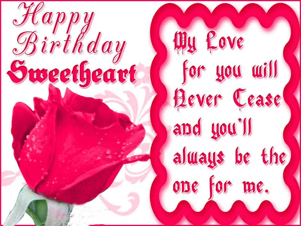 Best ideas about Girlfriend Birthday Wishes . Save or Pin Best Happy Birthday Wishes For Girlfriend or Wife Now.