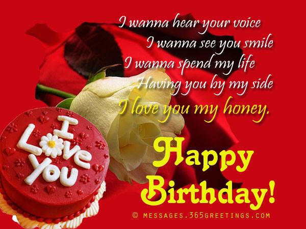Best ideas about Girlfriend Birthday Wishes . Save or Pin Birthday Wishes for Girlfriend 365greetings Now.