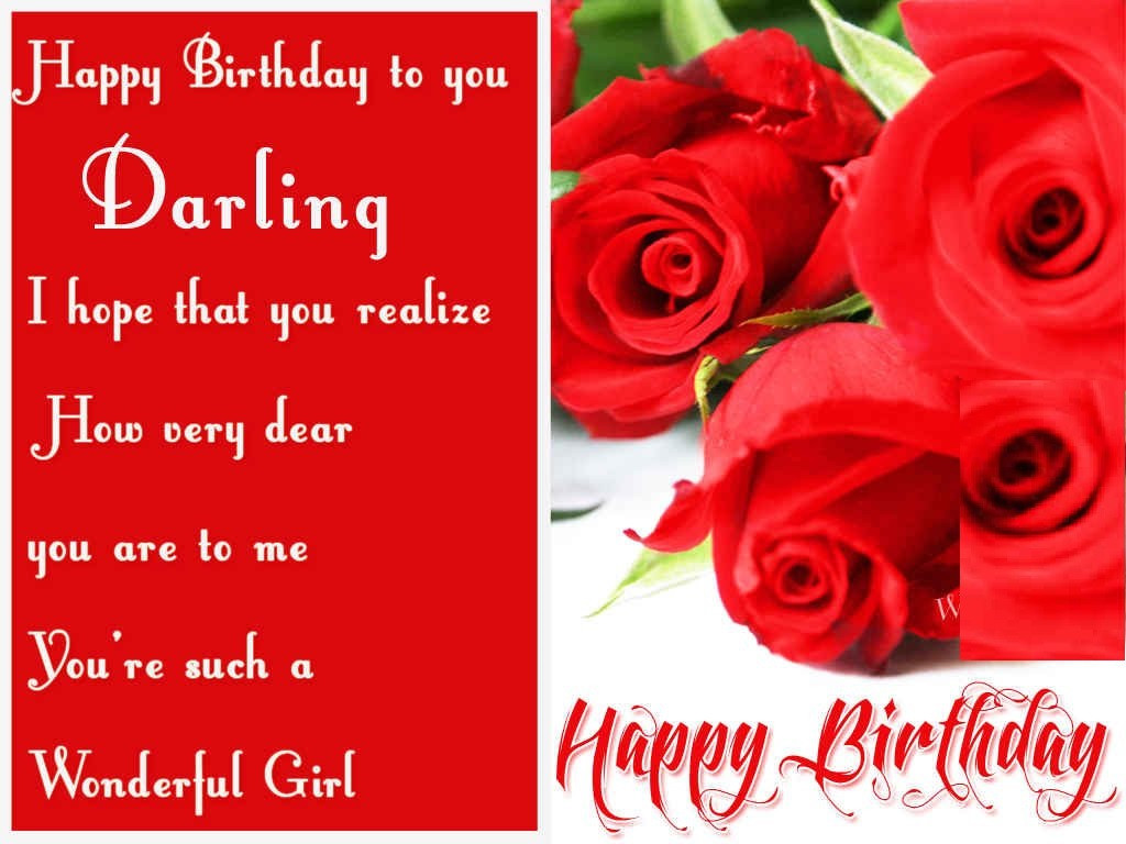 Best ideas about Girlfriend Birthday Wishes . Save or Pin Happy Birthday Wishes for Girlfriend GF b day wishes Now.