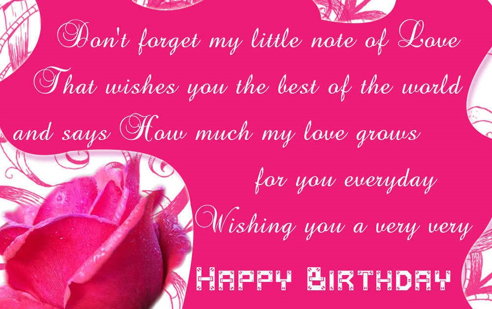 Best ideas about Girlfriend Birthday Wishes . Save or Pin Happy birthday messages for girlfriend Birthday Girlfriend Now.