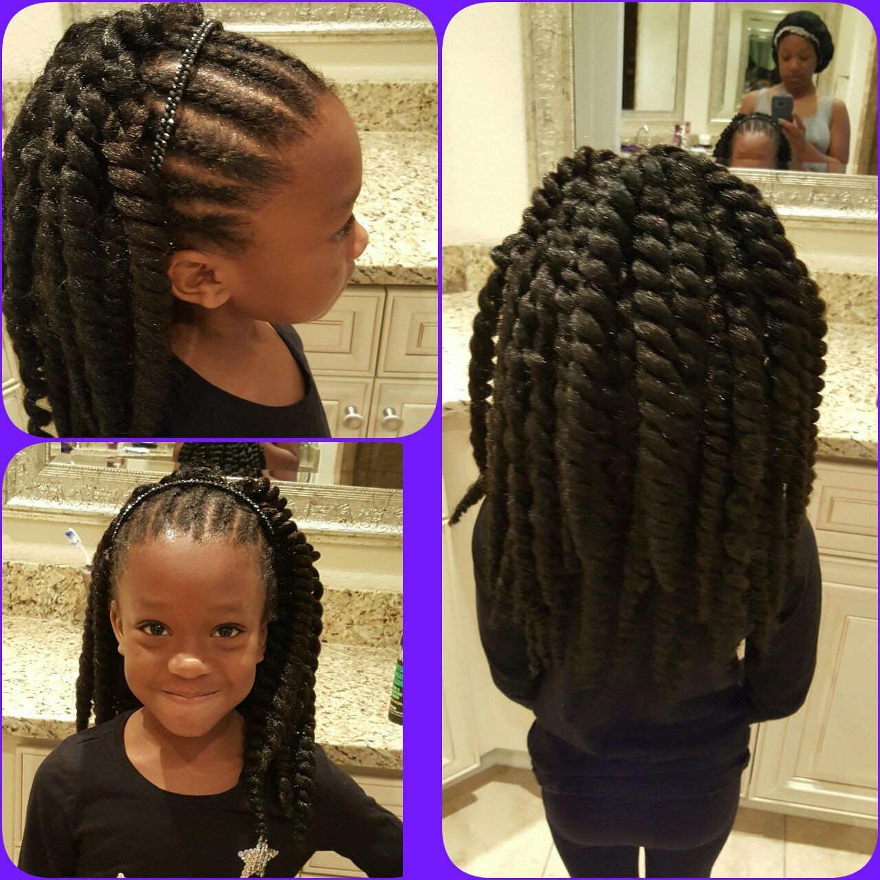 Best ideas about Girls Crochet Hairstyles . Save or Pin Little girl crochet with cornrows … Now.