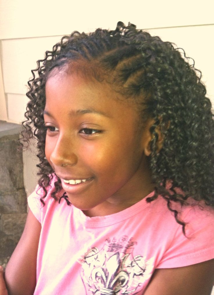 Best ideas about Girls Crochet Hairstyles . Save or Pin 19 best Crochet braids for little girls images on Now.