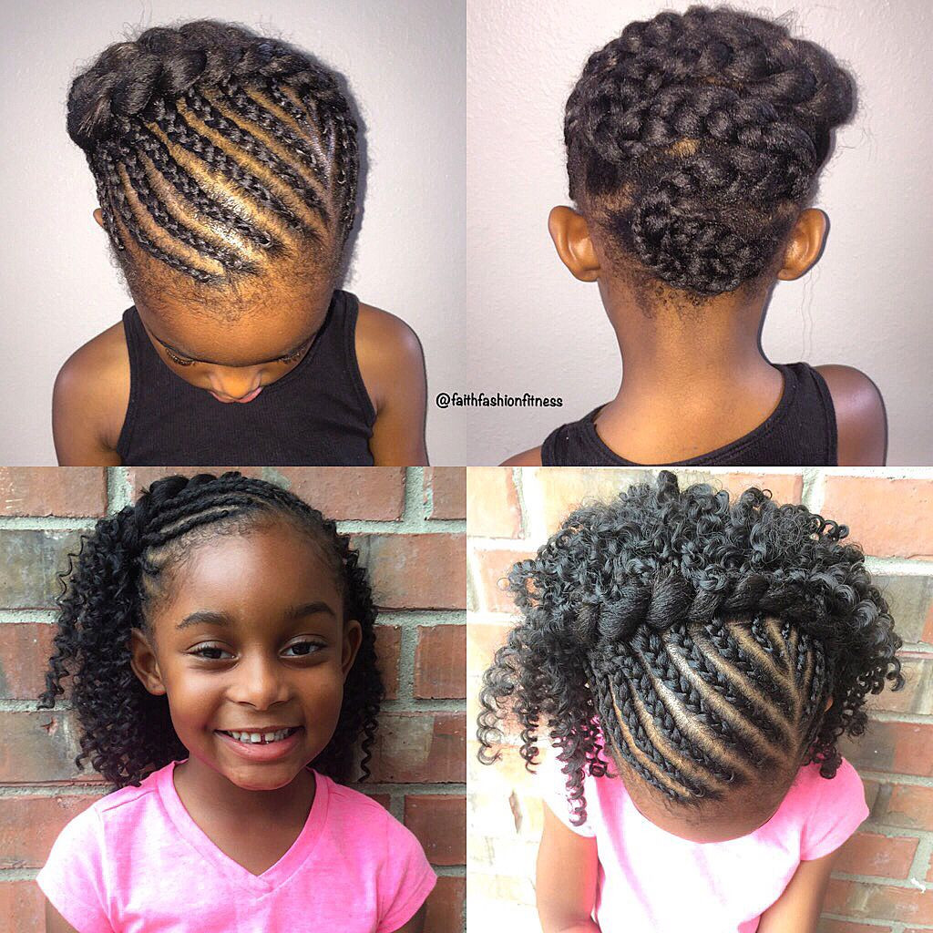 Best ideas about Girls Crochet Hairstyles . Save or Pin Kids crochet braids style Now.