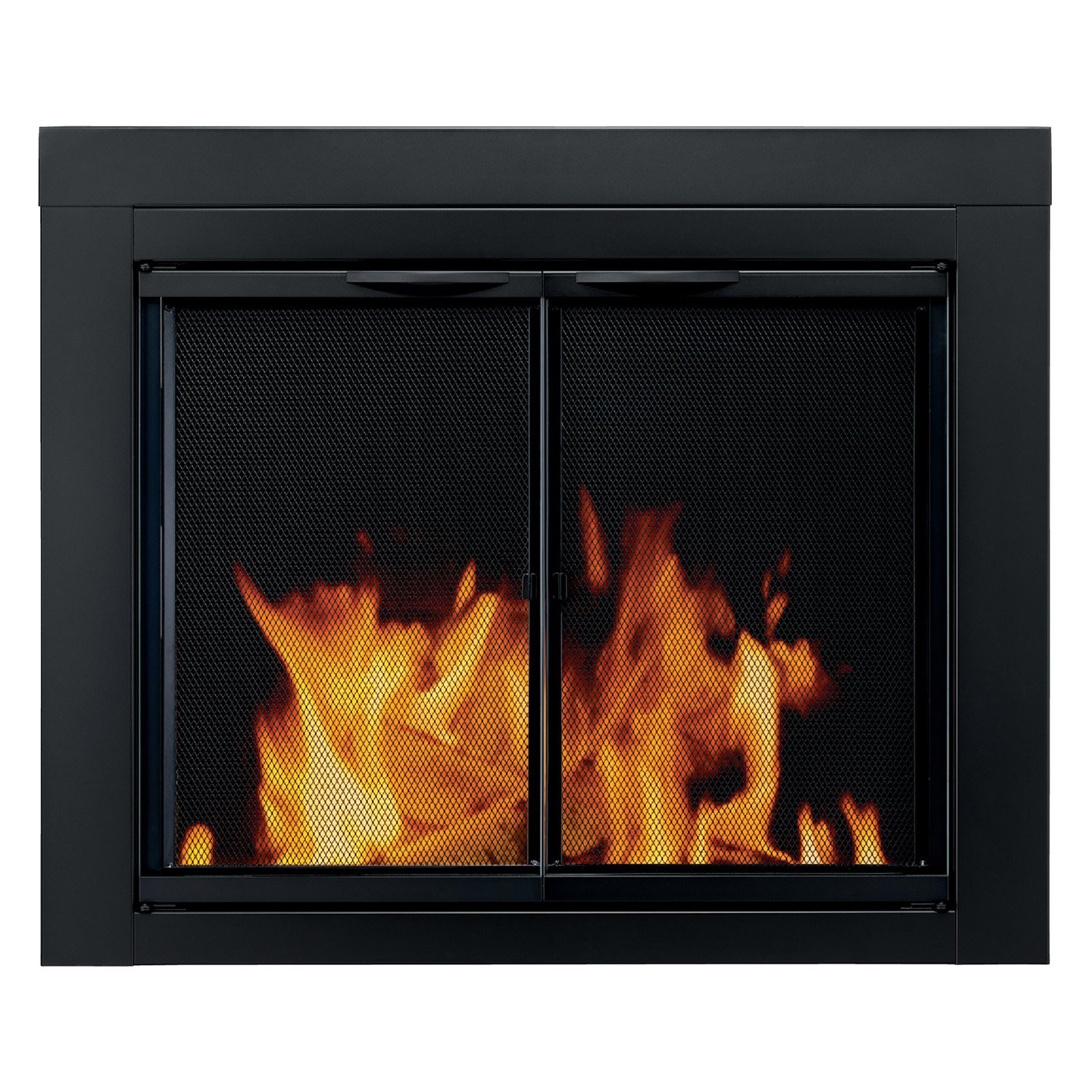 Best ideas about Glass Doors For Fireplace . Save or Pin Pleasant Hearth Alpine Cabinet Fireplace Screen and Glass Now.