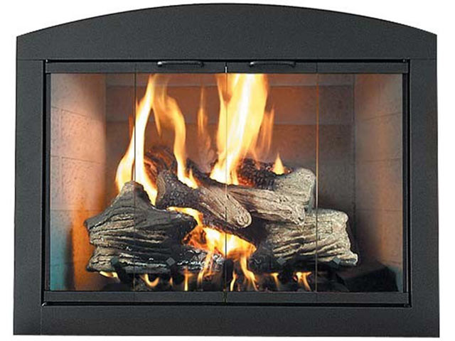 Best ideas about Glass Doors For Fireplace . Save or Pin Fireplace Doors Glass Fireplace Doors Now.