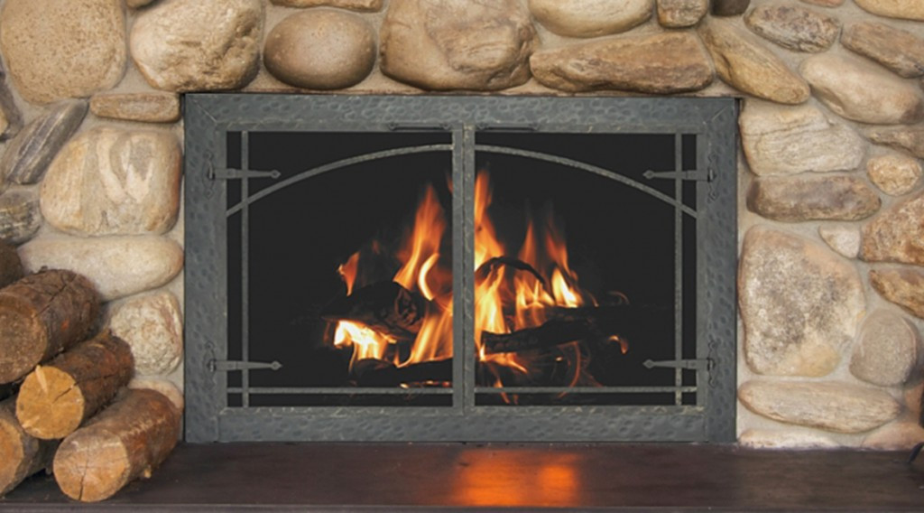 Best ideas about Glass Doors For Fireplace . Save or Pin Glass Doors Now.