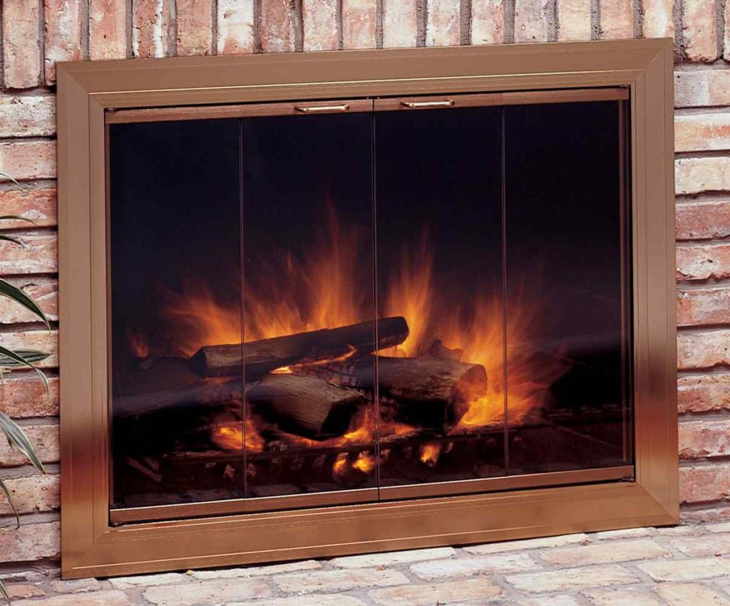 Best ideas about Glass Doors For Fireplace . Save or Pin Cool Fireplace Glass Doors Keep You Warm Now.