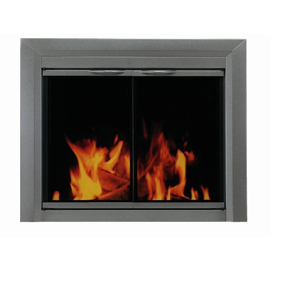 Best ideas about Glass Doors For Fireplace . Save or Pin Pleasant Hearth Fireplace Glass Door Now.