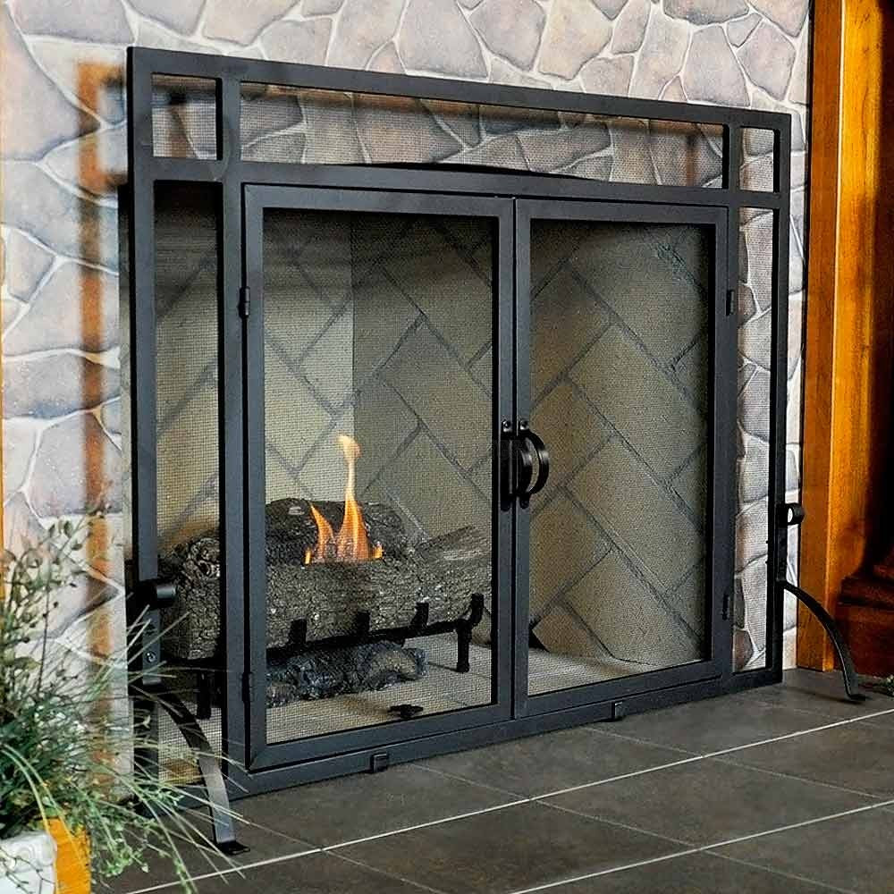 Best ideas about Glass Doors For Fireplace . Save or Pin awesome fireplace glass doors How to Measure Fireplace Now.