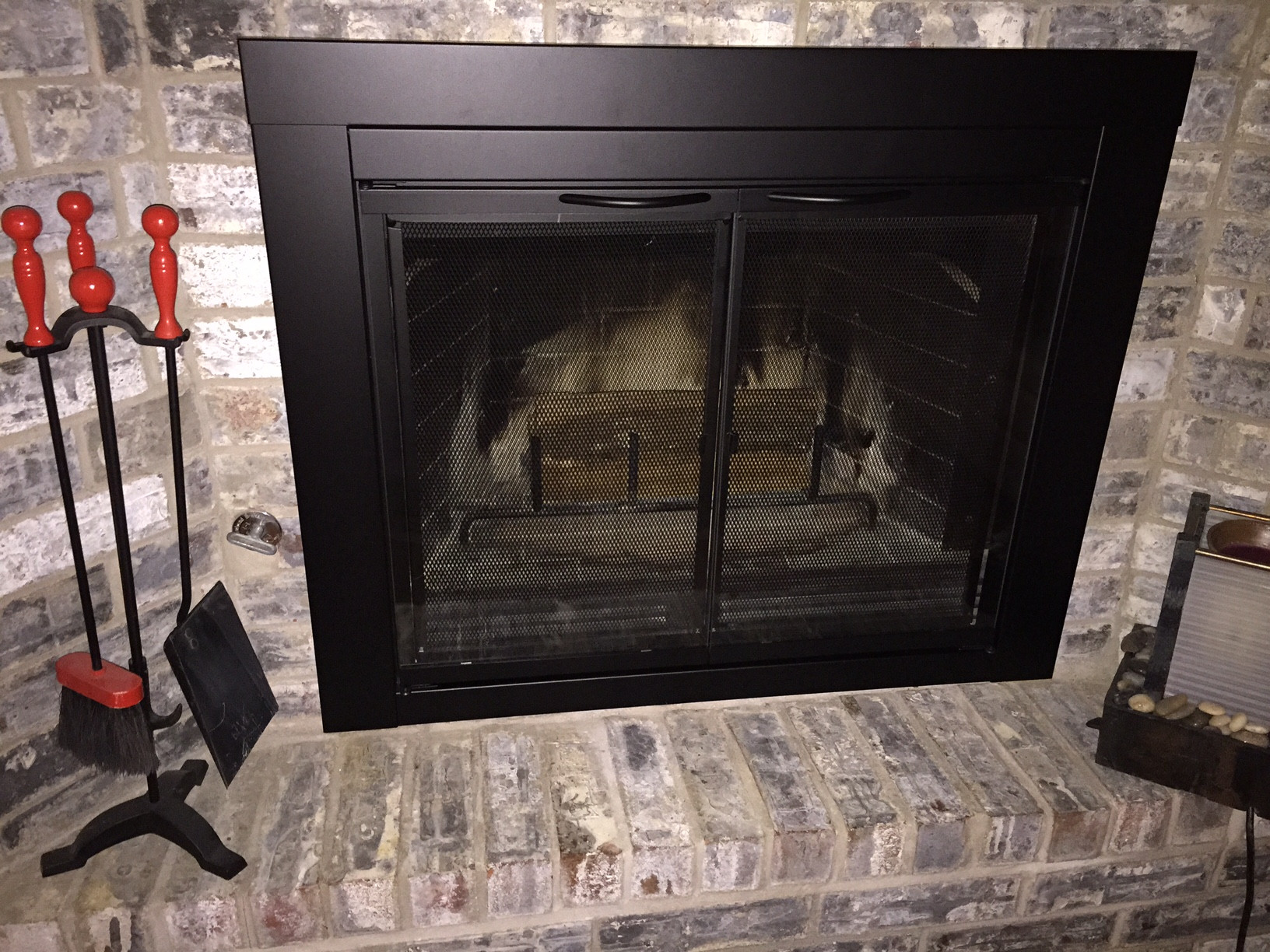 Best ideas about Glass Doors For Fireplace . Save or Pin Fireplace Glass Doors Now.