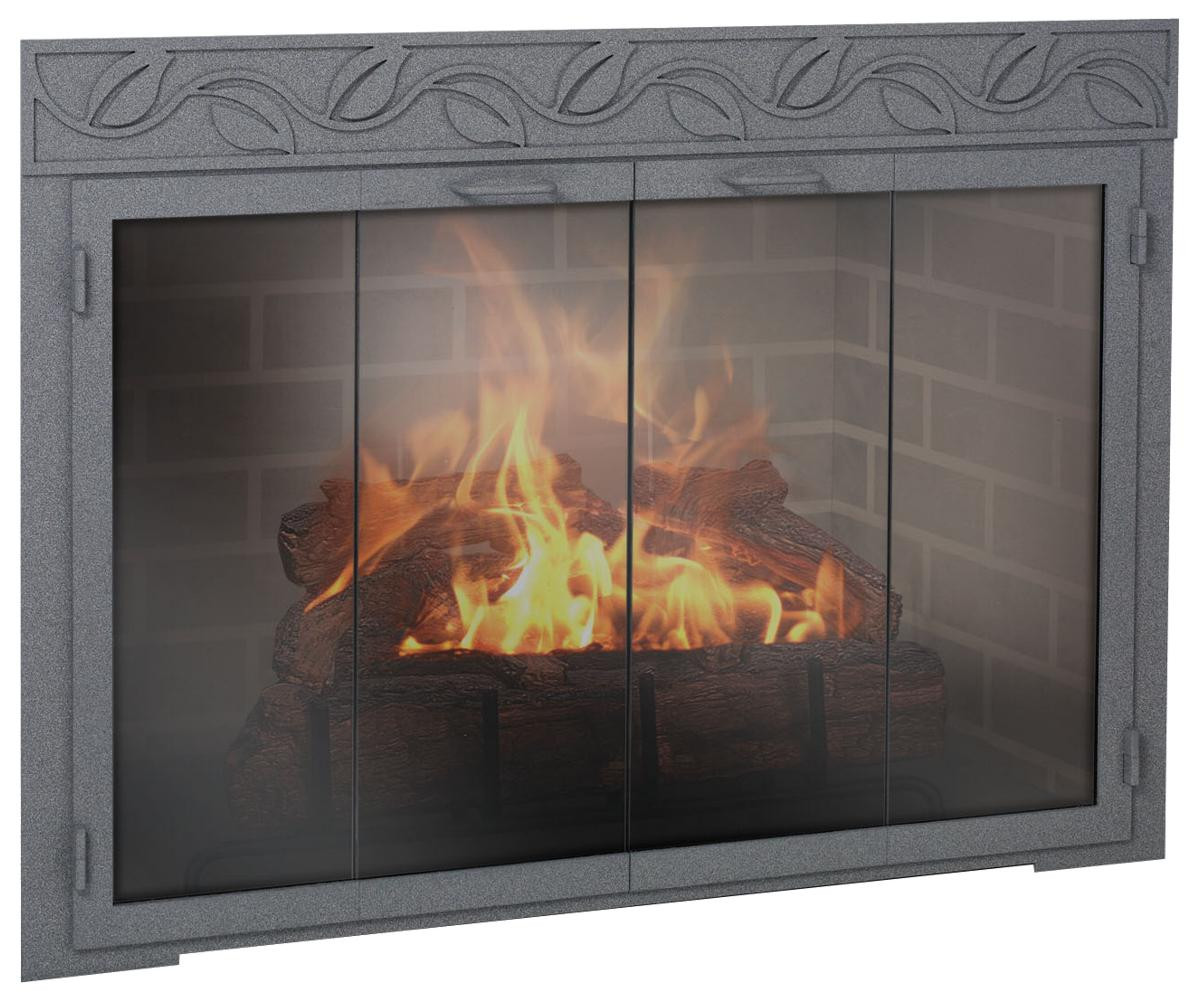 Best ideas about Glass Doors For Fireplace . Save or Pin Nice Fireplace Glass Doors — The Wooden Houses Now.