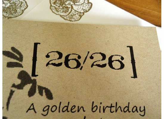 Best ideas about Golden Birthday Quotes . Save or Pin 26 26 A Golden Birthday Now.
