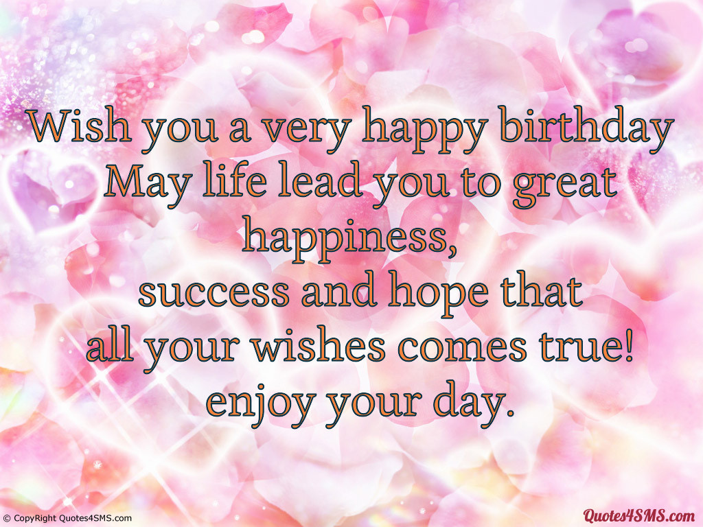 Best ideas about Good Birthday Quotes . Save or Pin I Hope Your Happy Quotes QuotesGram Now.