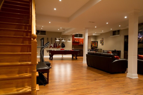 Best ideas about Great Basement Ideas . Save or Pin Great Basement Interior Design Ideas Basement Design Now.