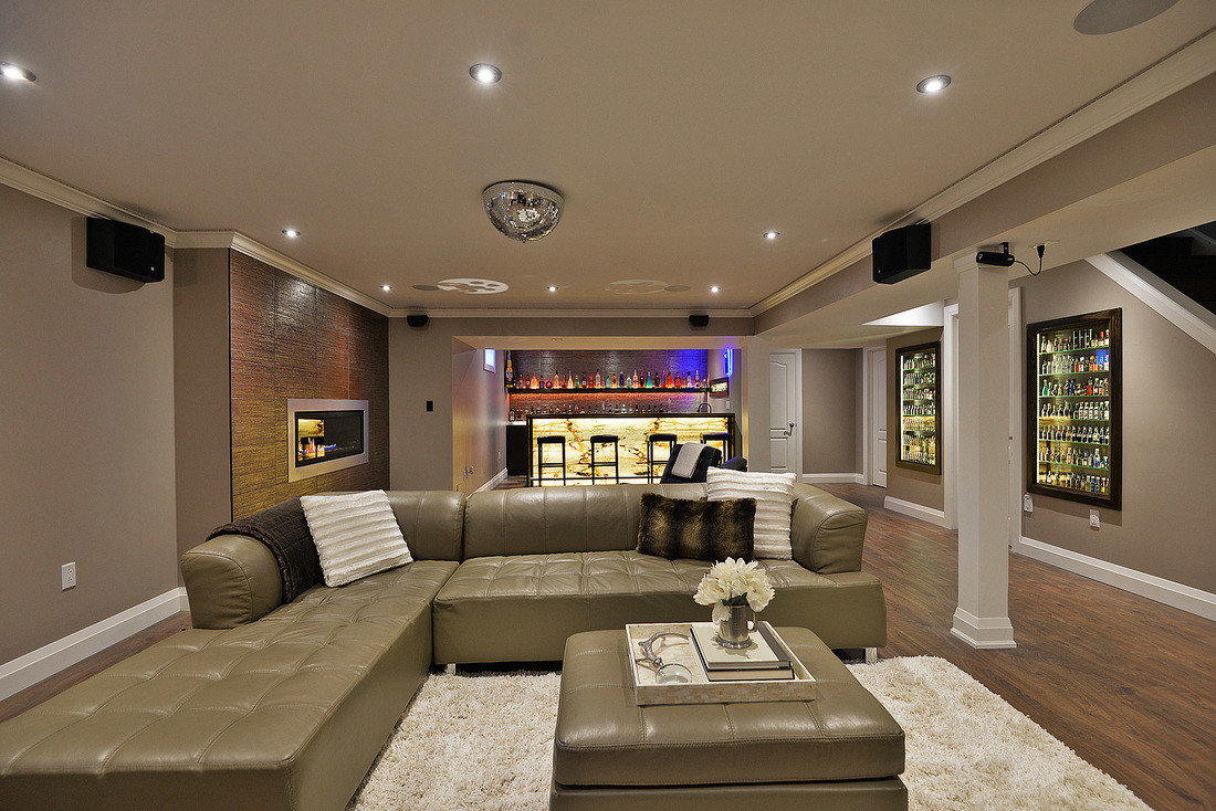 Best ideas about Great Basement Ideas . Save or Pin Modern Basement Design Plans Great Basement Design Plans Now.